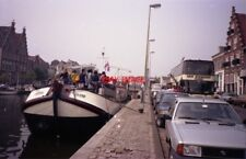 PHOTO  NETHERLANDS OUDEWATER 1989 BOAT JACOB V2