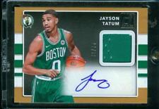 1/75=1/1 Jayson Tatum 17-18 Donruss 1st Rookie Jersey Auto Autograph RC Celtics