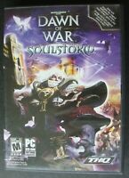 WARHAMMER 40,000  DAWN OF WAR SOULSTORM PC DVD ROM GAME