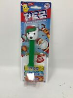 Pez Dispenser~Christmas~Clear Crystal Polar Bear-Red Cap-Pupil's ~Mint in Bag