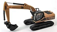 JCB JS220LC Tracked Backhoe Excavator 1/87th Scale Yellow/Black Tracked 48 Post