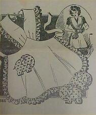 SALE Vintage Bib Apron Elephant Potholder Full Size Sewing Fabric Pattern 30s