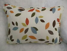 "SCATTERED LEAVES BY PRESTIGIOUS OBLONG CUSHION  20"" X 14 ""(51 CM X 36 CM)"
