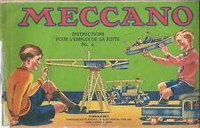 Catalogue Meccano N° 2 1946 catalog catalogo Katalog