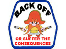 Back Off Or Suffer The Consequences S-34
