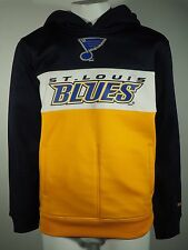 Reebok NHL St. Louis Blues Youth Size Sweatshirt Official Face Off Collection
