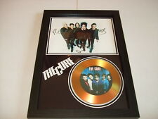 THE CURE  SIGNED FRAMED GOLD CD  DISC 91