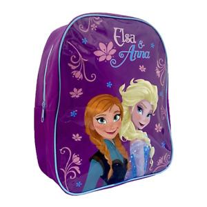Frozen 2 Backpack Elsa Anna Rucksack School Bag 31cm Disney Nursery Girl Child