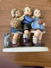 "New ListingGoebel M I Hummel Figurine, ""Follow The Leader"", # Hum 369, 7"" High, Tmk 5 Mint"