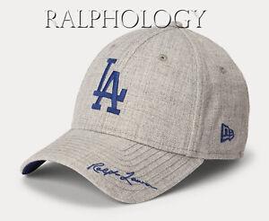 Los Angeles LA Dodgers Polo Ralph Lauren 49FORTY New Era Baseball Hat Cap LTD