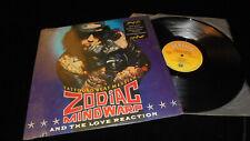 Zodiac Mindwarp And The Love Reaction – Tattooed Beat Messiah 1988 LP vinyl