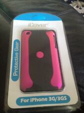 iCover IPHONE 3G / 3GS COVER HARD CASE TWO TONE Pink /Black PROTECTIVE CASE