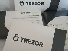 Trezor Model T Cryptocurrency Hardware Wallet Brand New Factory Sealed