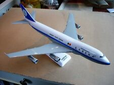 Sabena miniatuurvliegtuig Boeing B747-100 schaal 1/200 met originele doos.L:35cm