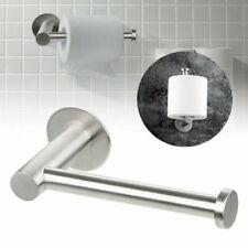 Montado en la pared Baño Estante Sostenedor de papel higiénico rollo de tejido Soporte De Acero Inoxidable