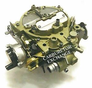1985~1987 Chevrolet & GMC Pickup Rochester Quadrajet Carburetor 454 Engine