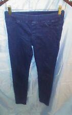 7 FOR ALL MANKIND Legging Style Dark Blue Skinny Jeans Elastic Waist sz M