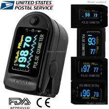 Finger Tip Pulse Oximeter SpO2 Heart Rate monitor blood oxygen Meter Sensor, FDA