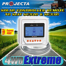 PROJECTA SC300D NEW 12V & 24V 20/30AMP SOLAR PANEL CHARGE CONTROLLER REMOTE ONLY