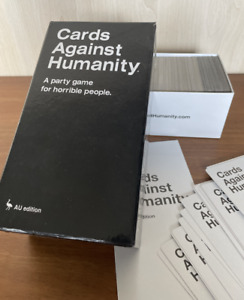 Cards Against Humanity AU Edition Adult Party Card Game