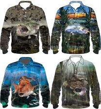 Samaki Fishing Sun Shirt: Flathead, Snapper, Barra, Cod - New Designs: Free Post