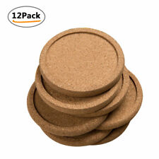 Drinking Cup Coasters Kitchen Table Placemats Round Solid Mats Accessories 12pcs