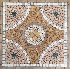 mosaico rosone in marmo 80x80 cm art 2