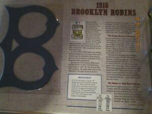 Patch 1916 BROOKLYN ROBINS WILLABEE & WARD
