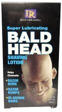 DR Super Lubricating BALD HEAD Shaving Lotion 4oz Hair Removal Head Shavers