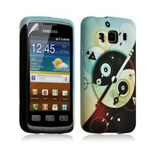 Housse coque étui gel pour Samsung Galaxy XCOVER S5690 motif LM12 + Film protect