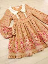 LIZ LISA Dress Japan-M English rose bouquet Hime&Lolita Romantic 109fashion Cute