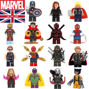 Custom MARVEL Mini Figures - Superheroes Marvel DC Star Wars Infinity War Hulk