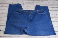 Blassport Woman Elastic Straight Jeans - Size 18W