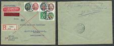 GERMANIA WEIMAR LETTERA SERIE 1928 STEMMI REGIONALI DA KREFELD A GRAVENHAGE