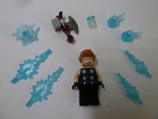 LEGO Thor minifig figure toy Mjolnir hammer Marvel Universe superhero Avengers!