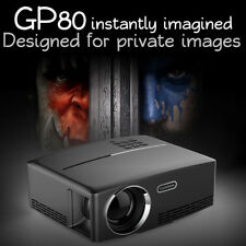 Portable 1080P Video Projector Video Home Cinema Theater Support VGA USB HDMI