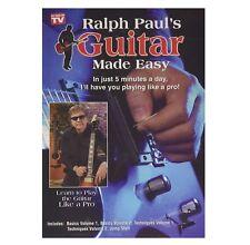 Ralph Paul's Guitar Made Easy Dvd, Learn Guitar Fast (Wholesale Bulk Lot of 10)