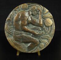 Medal Inspiration of Medailleur Horse Pegasus Ponomarew Num 13/200 1966 14 CM
