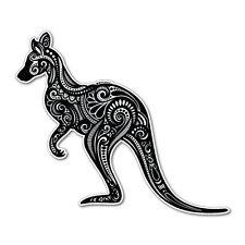 Kangaroo Figure Car Sticker Aussie Car Flag 4x4 Funny Ute #5605EN