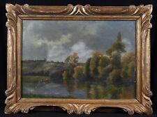 Jacques Henri DELPY (1877-1957) paysage Charles Daubigny Paris France marne