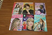 6 Taylor Swift ICarly Justin Bieber Gabby Douglas Readers Lot Books Children