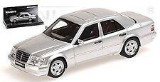 Brabus 6,5 V8 - 1993 Mercedes 500E W124 argent argent métallique 1:43 Minichamps
