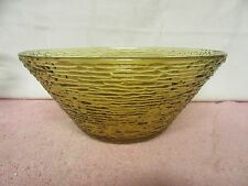 Vintage Anchor Hocking Large Soreno Amber Serving Bowl