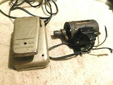 Sears Kenmore Sewing Machine Motor with foot speed control 110 v