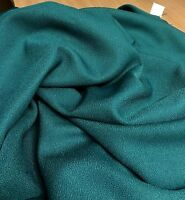 ASSORTED MULTI GREEN CREPE IN SMALL PEICES FABRIC 11.8 METRES (1.7+3.4+3.7+3)