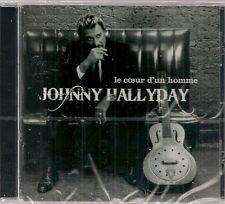 """CD """"JOHNNY HALLYDAY"""" LE COEUR D'UN HOMME""""  NEUF SOUS BLISTER"""