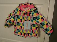 Cat & Jack 3 In 1 Bright Mutli Colored Jacket Size 12M Brand New With Hood