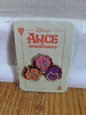 New ListingDisney Mondo Alice In Wonderland Flowers Pin