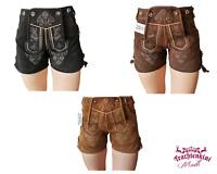 """SALE! kurze Damen Hotpants Lederhose """"Anna"""" in versch. Farben NEU! UVP 89,90 €"""