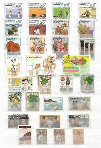 KAP VERDE  (  CABO VERDE )   - LOT OF  STAMPS